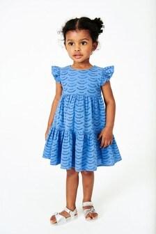 Ярусное платье c вышивкой ришелье (3 мес.-7 лет)