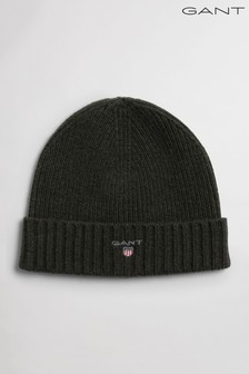 GANT Wool Lined Beanie Hat