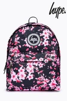 Hype. Dark Floral Backpack