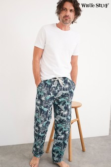 White Stuff White Creature Poplin Pyjama Bottoms