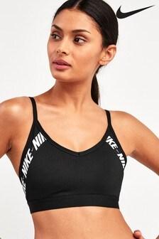 Nike Indy Logo Light Support Sports Bra