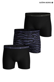 Bjorn Borg Black Sammy Tiger Shorts