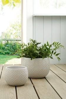 Tile Embossed Planter (443522) | $43 - $72