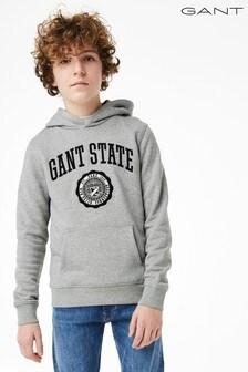Sudadera con capucha para niños adolescentes de estilo universitario de GANT