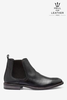 Kožené Chelsea topánky