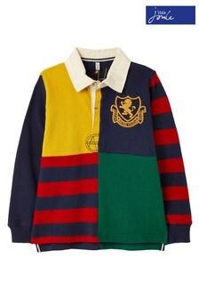 Koszula rugby z mieszanym wzorem Joules Try