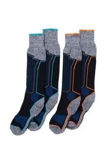 Набор из двух пар лыжных носков