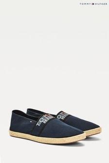 נעלי אספדרילעם לוגו שלTommy Hilfiger בצבע כחול