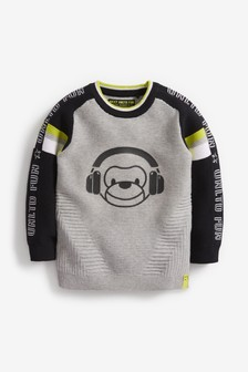 Ripple Monkey Jumper (3mths-7yrs)