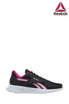 Reebok Run Black/Pink Lite 2 Trainers