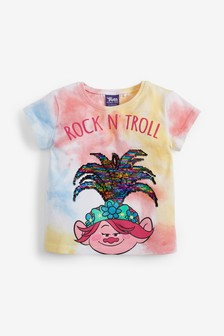 Sequin Trolls T-Shirt (3mths-7yrs)