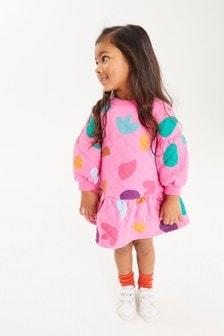Peplum Sweat Dress (3mths-7yrs)