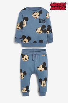 Mickey Mouse™ Jersey-Rundhalssweatshirt und Jogginghose im Set (3Monate bis 8Jahre)