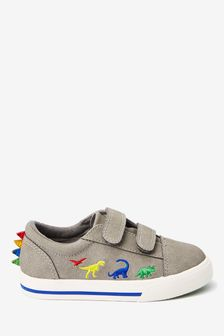 Double Strap Dinosaur Shoes (Younger)