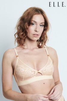 ELLE 24-7 Lace Non Padded Triangle Bralette