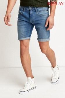 Replay® Anbass Slim Fit Shorts