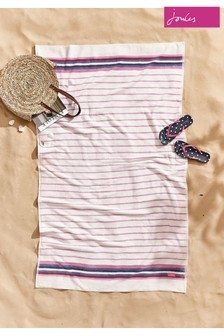 Joules Potting Shed Stripe Beach Towel