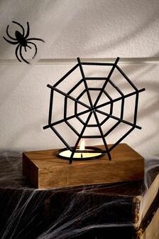 Halloween Spider Web Tea Light Holder