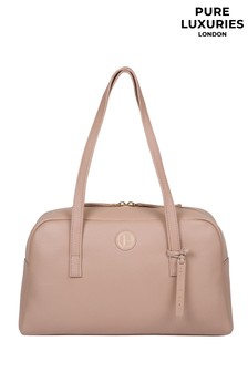 Pure Luxuries London Pitunia Leather Handbag