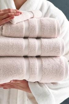 Luxe zuiver katoenen handdoek