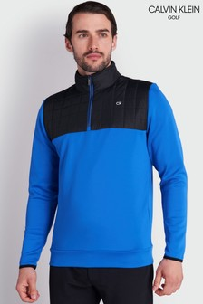 سترة زرقاء بنصف سحابVardon منCalvin Klein Golf