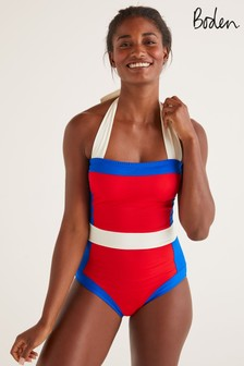 Boden Red Santorini Swimsuit