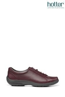 HotterFearne Flache Schuhe mit Reißverschluss, Rot