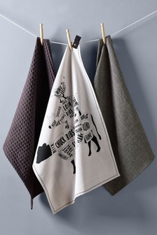 Set of 3 Tea Towels