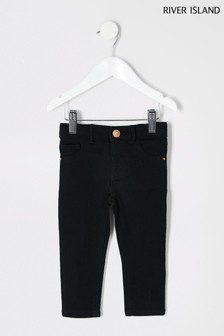 River Island Molly Jeans, schwarz