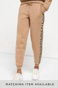 Спортивные брюки в стиле цветных блоков