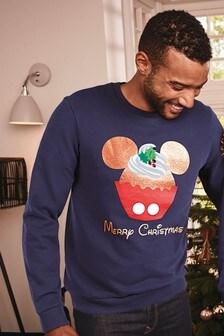 Męski sweter świąteczny z zestawu skoordynowanych strojów dla całej rodziny Mickey Mouse™