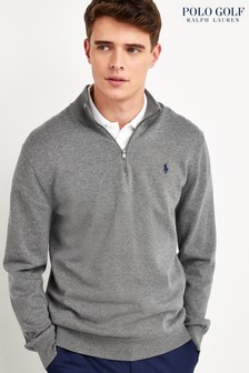 Polo Golf by Ralph Lauren Golf Zip Neck Jumper