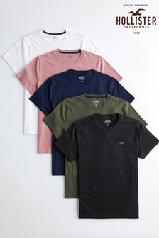 Hollister Multi T-Shirts Five Pack