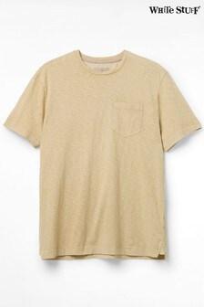 White StuffPflanzlich gefärbtes T-Shirt, Gelb