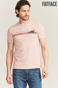 FatFace 70S Sunset Chest Graphic Tee