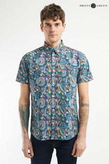 Chemise Pretty Green Citronella Liberty