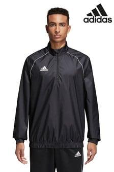 adidas Black Core 18 Windbreaker Jacket