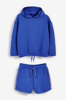 Sweat Hoodie With Shorts Set (3-16yrs)