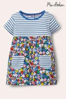שמלת ג'רזי צבעונית של Boden