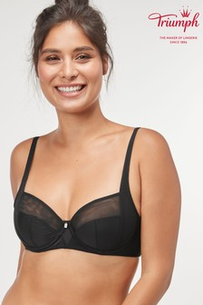 Triumph® Black True Shape Sensation Wired Bra