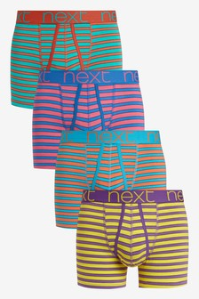 Pastel Stripe A-Fronts Four Pack