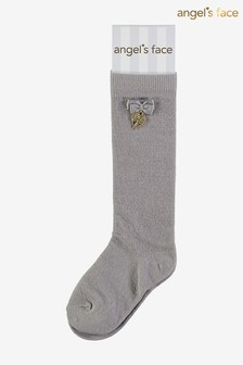 Серые носки с шармом Angel's Face