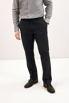 Formal Stretch Trousers 2 Pack