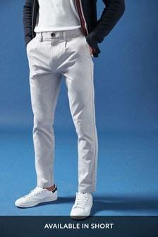 Chino nohavice so zámikmi
