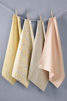 Set of 4 Tea Towels