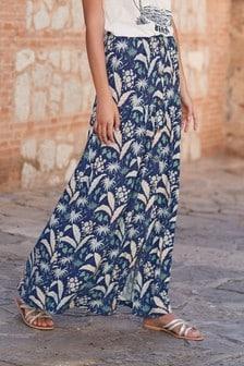 Многоярусная юбка макси
