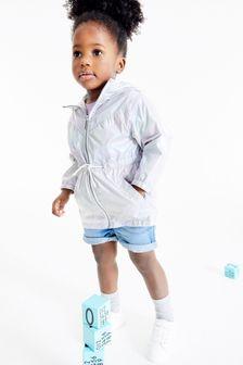 Куртка с разноцветным переливающимся эффектом  (3 мес.-10 лет)
