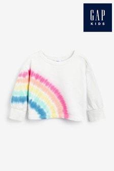 Gap Rainbow Tie Dye Sweatshirt
