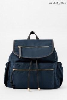 Синий рюкзак Accessorize