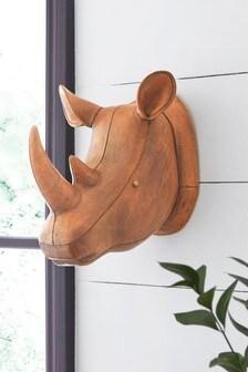 Plaketa na stenu s motívom nosorožca